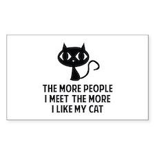 People I Meet Bumper Stickers