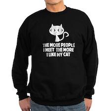 People I Meet Sweatshirt