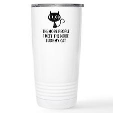 People I Meet Travel Mug