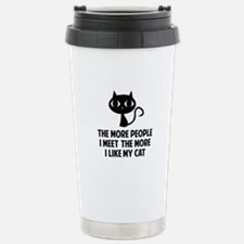 People I Meet Travel Mug