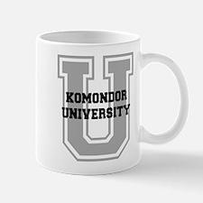 Komondor UNIVERSITY Mug