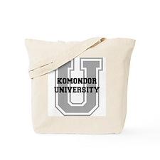Komondor UNIVERSITY Tote Bag
