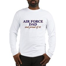 AF Dad & proud of it! Long Sleeve T-Shirt