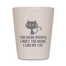 People I Meet Shot Glass