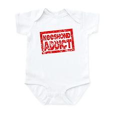 Keeshond ADDICT Infant Bodysuit