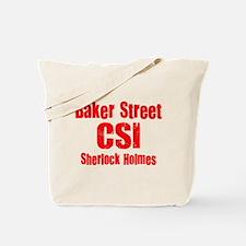 Baker Street CSI Tote Bag