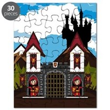 Medieval Knights & Castle Puzzle