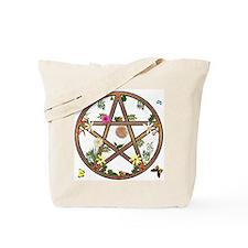 """""""Living Pentagram"""" Tote Bag"""