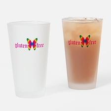 gluten-free butterfly Drinking Glass