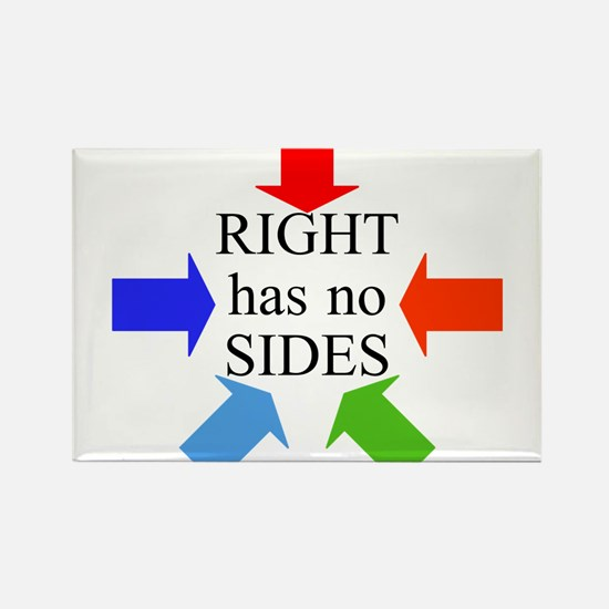 Right has no Sides Rectangle Magnet