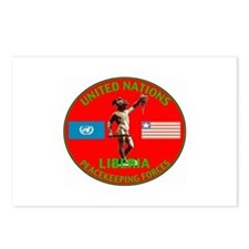 UN Liberia Postcards (Package of 8)