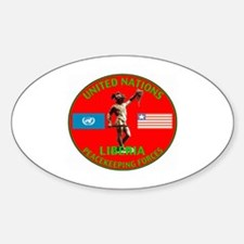 UN Liberia Oval Decal