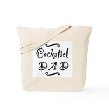 Cockatiel DAD Tote Bag