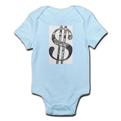 US Dollar Sign | Infant Creeper