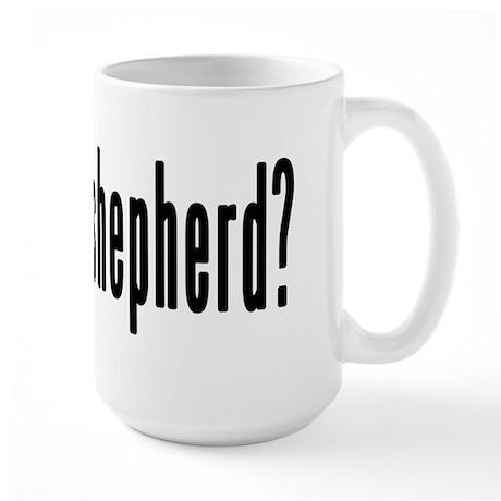 GOT WHITE SHEPHERD Large Mug