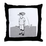 Bad at Sports Throw Pillow