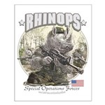 Rhinops Special Forces Small Poster