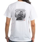 Rhinops Special Forces White T-Shirt grey