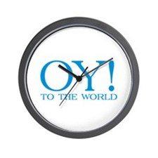 Oy to the World Wall Clock