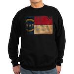 North Carolina Flag Sweatshirt (dark)