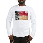 North Carolina Flag Long Sleeve T-Shirt