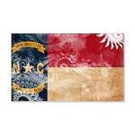 North Carolina Flag 22x14 Wall Peel