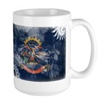 North Dakota Flag Large Mug