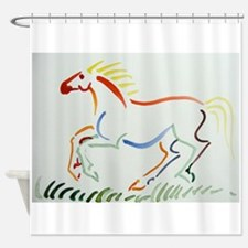 Unique Wild horses running Shower Curtain