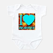 I (Heart) Peaches Infant Bodysuit