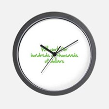Will work for ... Wall Clock
