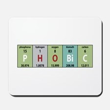 Chemistry Phobic Mousepad