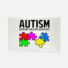 Autism Rectangle Magnet