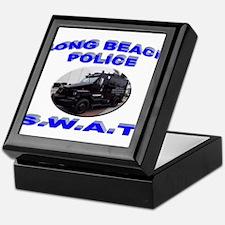 Long Beach SWAT Keepsake Box