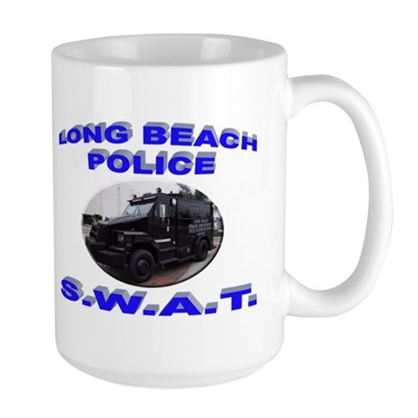 Long Beach SWAT Large Mug