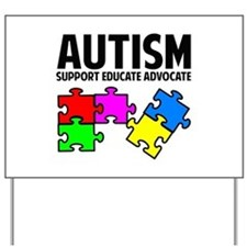 Autism Yard Sign