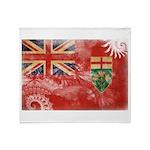 Ontario Flag Throw Blanket