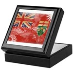 Ontario Flag Keepsake Box