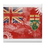 Ontario Flag Tile Coaster
