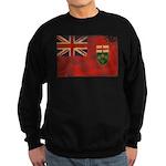 Ontario Flag Sweatshirt (dark)