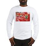 Ontario Flag Long Sleeve T-Shirt