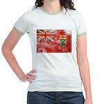 Ontario Flag Jr. Ringer T-Shirt