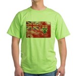 Ontario Flag Green T-Shirt