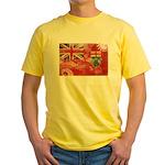 Ontario Flag Yellow T-Shirt