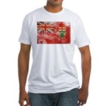 Ontario Flag Fitted T-Shirt
