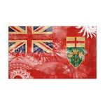 Ontario Flag 38.5 x 24.5 Wall Peel