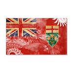 Ontario Flag 22x14 Wall Peel