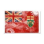 Ontario Flag Car Magnet 20 x 12