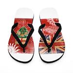 Ontario Flag Flip Flops