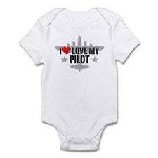 I Love My Pilot Infant Bodysuit