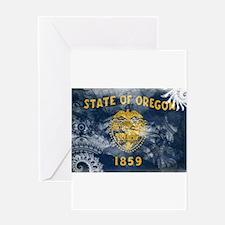Oregon Flag Greeting Card